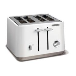 Toster Aspect biały na 4 tosty